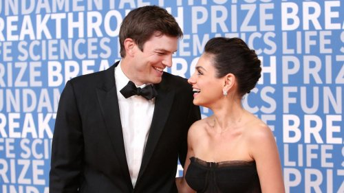"""Ashton Kutcher et Mila Kunis ne lavent leurs enfants """"que quand ils sont sales"""""""