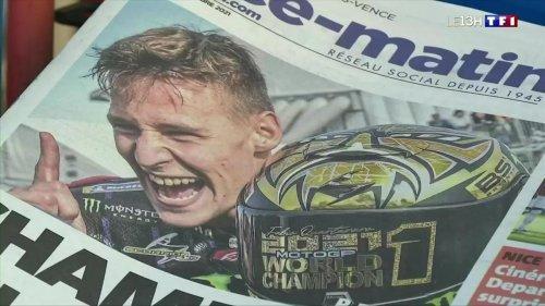 Fabio Quartararo : les Niçois fiers de leur champion du monde de MotoGP