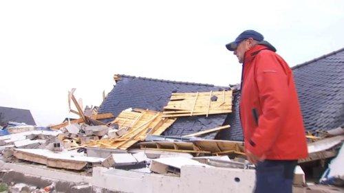 """VIDÉO - """"Les tôles volaient dans tous les sens"""" : la grosse frayeur du village breton secoué par une tornade"""