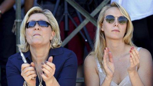 Passe d'armes entre Marion Maréchal et Marine Le Pen au sujet d'Éric Zemmour