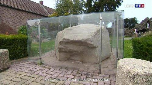 Un rocher sème la discorde dans le village de Féchain, dans le Nord