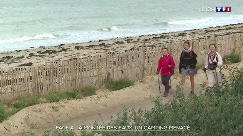 Un camping de la Manche menacé par la montée des eaux