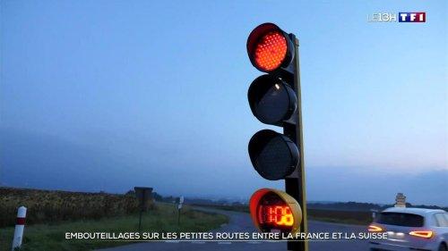 Des feux pour dissuader les frontaliers français en Suisse