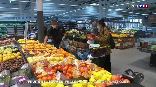 Fruits et légumes : fini les emballages plastiques
