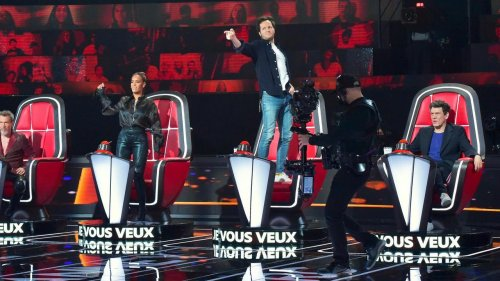 "EN DIRECT - Jim Bauer enflamme les demi-finale de ""The Voice"""
