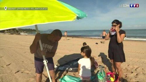 Le bonheur des vacanciers au soleil dans les Pyrénées-Atlantiques