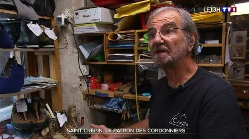 A la rencontre d'un cordonnier de montagne à Grenoble