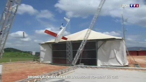 Rwanda : des drones pour acheminer les médicaments