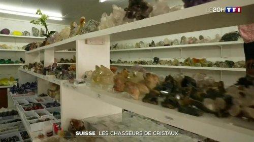 Suisse : les chasseurs de cristaux