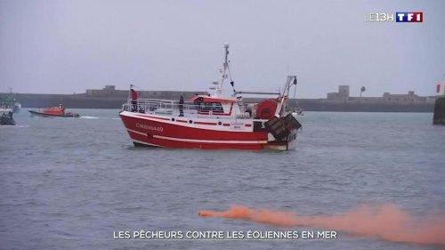 Eoliennes en mer : des centaines de pêcheurs mobilisés