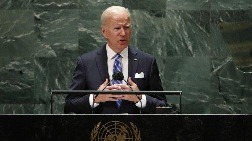 """""""Nous voulons mettre fin aux tensions"""" : à la tribune de l'ONU, Biden joue l'apaisement et le multilatéralisme"""