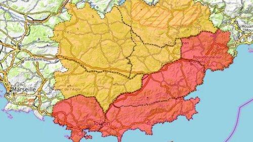 Incendies : une dizaine de massifs forestiers sous surveillance dans le Var