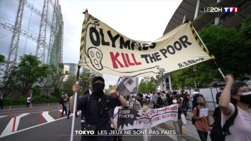 Japon : la fronde anti-JO