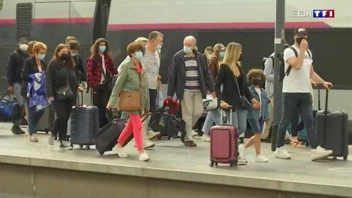 Départs en vacances : grosse affluence dans les gares et les aéroports