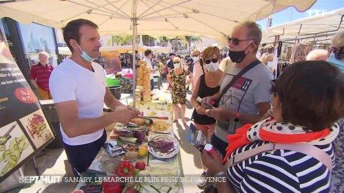 Dans les coulisses du marché de Sanary-sur-Mer, le plus prisé de Provence