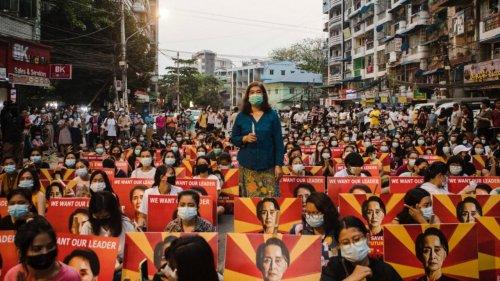 Birmanie : plus de 5 000 manifestants prisonniers vont être libérés