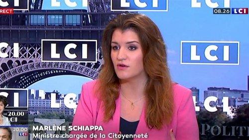 """Loi contre le """"séparatisme"""" : """"Marine Le Pen est molle car elle ne propose rien"""", juge Marlène Schiappa"""