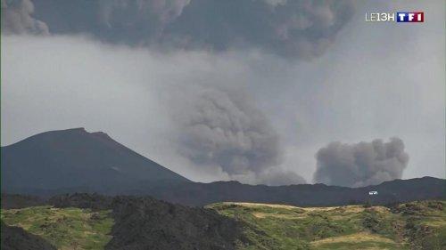 Éruption de l'Etna : pluie de cendres sur la Sicile