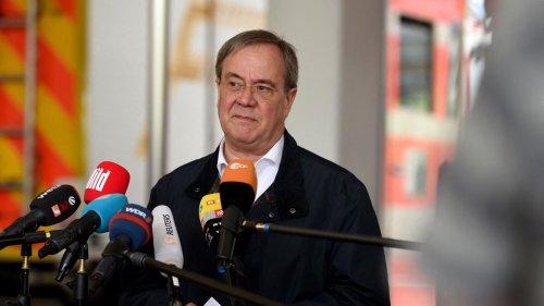 Inondations : indignation en Allemagne après les rires du potentiel successeur de Merkel