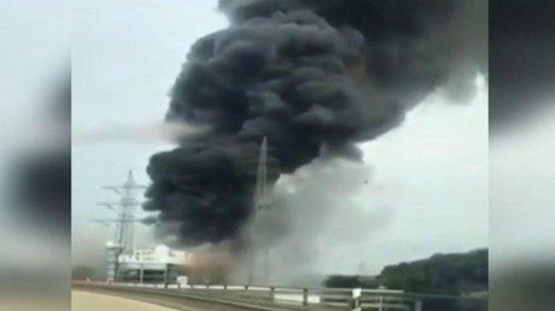 """Allemagne : une explosion classée """"danger extrême"""" survient sur un site chimique"""