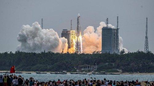 Chute (incontrôlée) d'une fusée chinoise sur Terre ce week-end : quels sont les risques ?