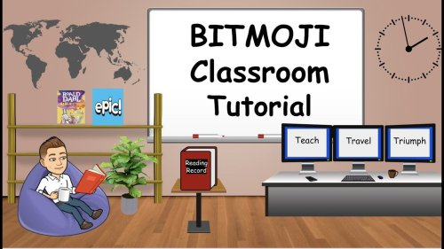 How to Make Bitmoji Classroom for Distance Learning? - Learn Forget