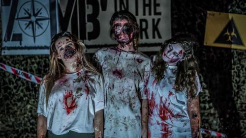 Une course d'orientation nocturne dans un fort infesté de zombies près de Lyon