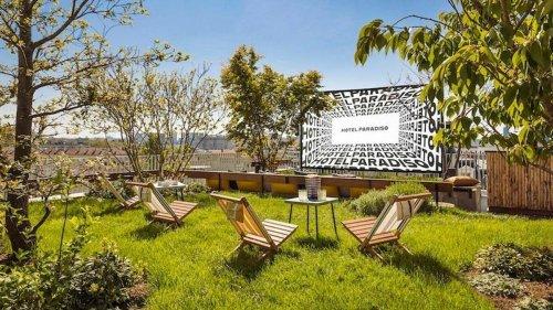Un nouveau cinéma en plein air s'installe sur un rooftop à Paris