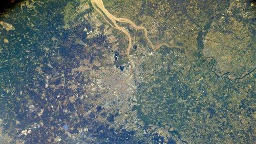 Un astronaute japonais publie une photo de Bordeaux depuis l'espace