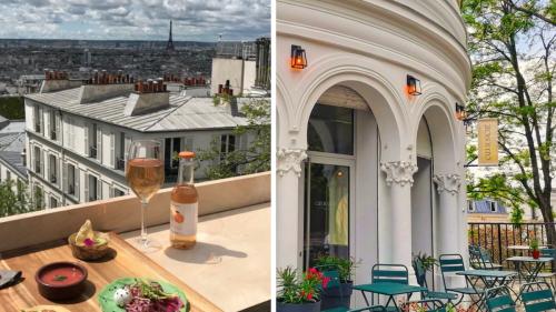 Cœur Sacré : le nouveau rooftop bar à cocktails avec vue sur tout Paris