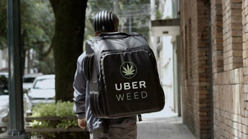 Uber veut lancer UberWeed, son service de livraison de cannabis à domicile