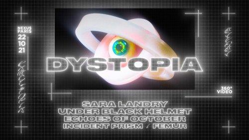 Dystopia • Sara Landry, Under Black Helmet