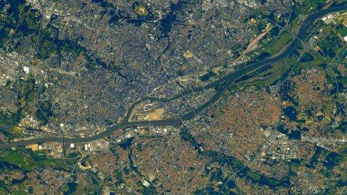 L'astronaute Thomas Pesquet publie des photos incroyables de Nantes et de la Loire depuis l'espace