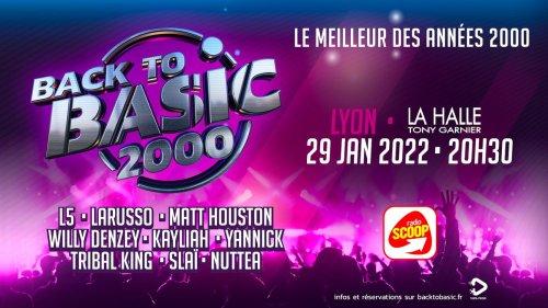 Replongez dans les années 2000 avec l'incroyable concert Back To Basic à Lyon