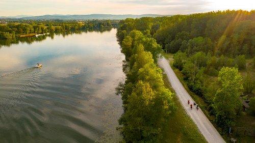 La Voie Bleue, une véloroute de 700 km pour relier Lyon et le Luxembourg