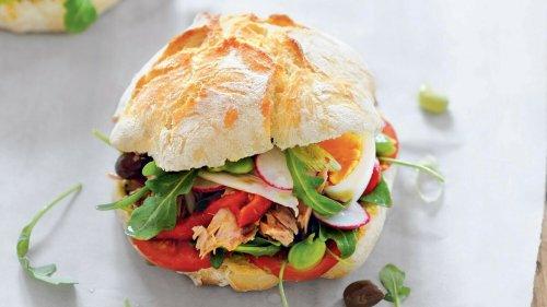 La recette gourmande du Pan Bagnat de Cyril Lignac