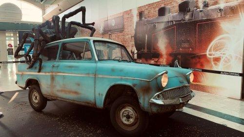 Alerte : la voiture volante de Harry Potter vient de se poser à Lille