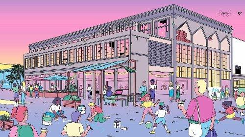 EXCLU : un immense bar culturelle en plein air de 7 000 m² va débarquer au coeur du 7e