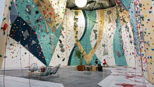 Une nouvelle salle d'escalade a ouvert aux portes de Bordeaux