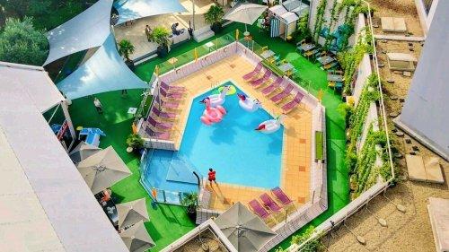 Un grande pool party avec DJ et pizzas maison débarque en plein coeur de Lyon fin août