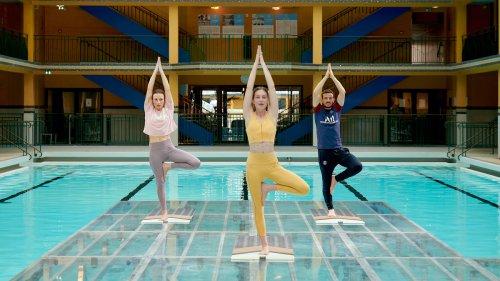 Un challenge yoga pour Alessandro Florenzi à l'hôtel Molitor