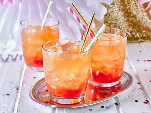 Blutorangen-Gin-Cocktail Rezept | LECKER