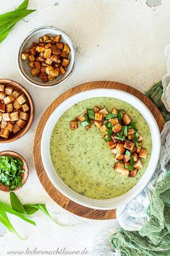 Bärlauch-Kartoffel-Suppe {schnell & einfach}