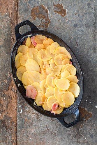 Bärlauch-Kartoffel-Auflauf {bärlauchsaison}
