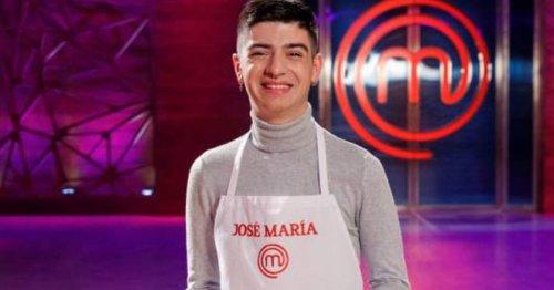 La desgarradora historia personal de José María, el concursante más joven de 'Masterchef 9'