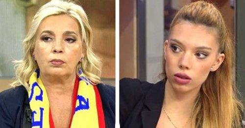 """Carmen Borrego y Alejandra Rubio siguen el consejo de Terelu Campos y dan un paso atrás: """"Esto tiene que parar"""""""