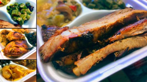 This Phenix City meat-and-three serves fall-off-the-bone chicken. Here's what else we ate