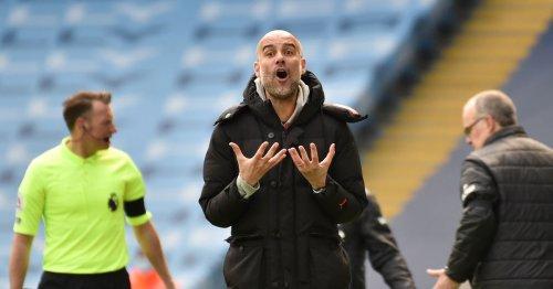 Pep Guardiola praises Leeds United's aggression after upset win