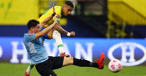 Brazil record-breaker makes bullish Raphinha and Neymar comparison