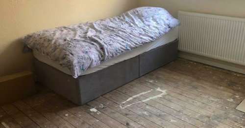 Dad's moving act of kindness after 'haunting' picture of seven year old's bedroom is posted online